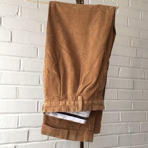 Ralph Lauren Polo Brown Corduroy Pants Sz 38-30